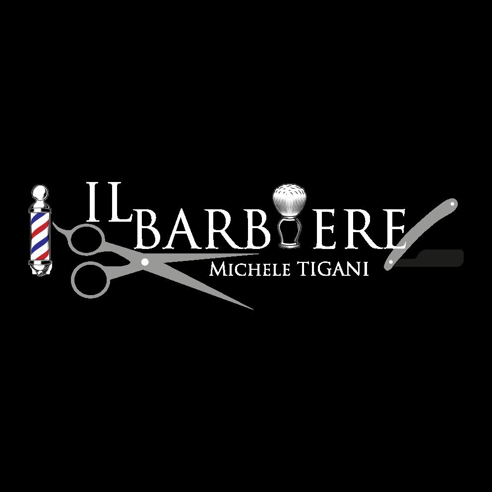 Il Barbiere Logo weiß